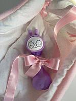 Іграшка-нічник Smarty Зайчик Alilo R1 YoYo фіолетовий, фото 1