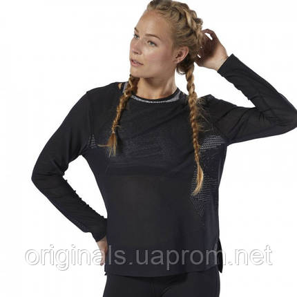 Спортивная футболка Reebok CrossFit® женская Jacquard DU5109  , фото 2