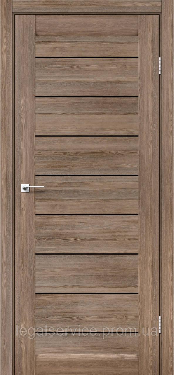 "Дверне полотно ТМ ""Leodor"" модель ""Neapol"" сіре дерево"