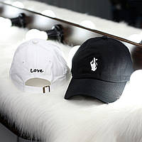 Кепка Love логотип вышивка   Стильная, фото 1
