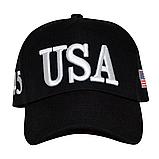 USA бейсболка чоловіча, жіноча, унісекс, кепка, фото 3