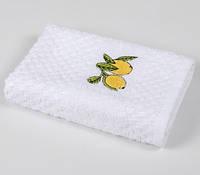 Полотенце кухонное Lotus Mira - Lemon tree белый 40*60