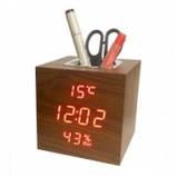 Настольные часы от сети+батарейка VST-872S (80 шт/ящ), фото 3