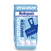 Штукатурка декоративна Короїд білий SHPATEN Reibeputz 2,0 мм