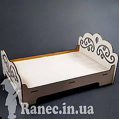 Мебель для куклы Кровать№3 для  монстер хай  для  винкс свинка пеппе Pepe кукольный домик