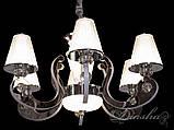 Классическая люстра с подсветкой 8360/6HR, фото 4