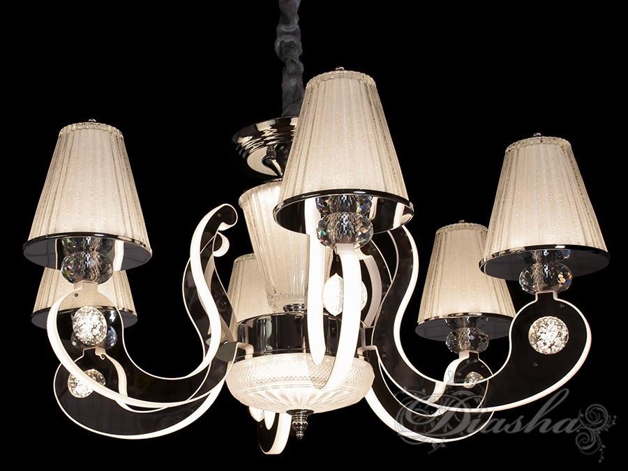 Классическая люстра с подсветкой 8360/6HR