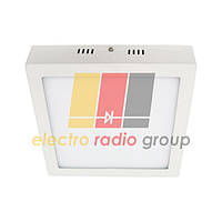 #466/1 18W SQ WALL PANEL (metal) Pure White Б-класс Светодиодный светильник