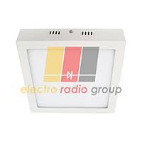 #469/1 PREMIUM 18W SQ WALL PANEL (metal) Pure White Б-класс Светодиодный светильник
