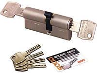 Цилиндр AGB SCUDO 5000 PS 90 мм (T60x30) ручка-ключ мат.хром, фото 1