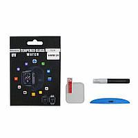 Защитное стекло UV для APPLE Watch 44mm (2018) (0.25 мм, 3D, прозрачное)  в комплекте с UV клеем и лампой