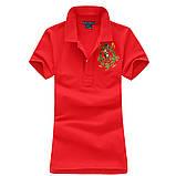 В стиле Ральф поло женское поло хлопок женская футболка ралф, фото 2