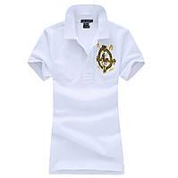 В стиле Ральф лорен поло женское поло хлопок женская футболка ралф, фото 1