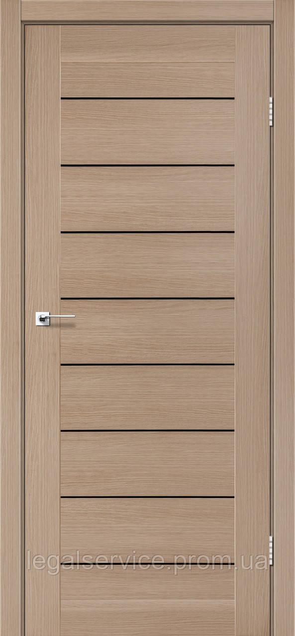 """Дверное полотно ТМ """"Leodor"""" модель """"Neapol"""" цвет мокко"""