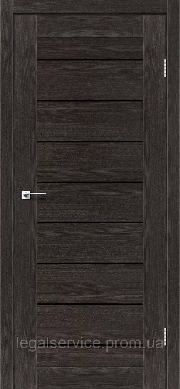 """Дверное полотно ТМ """"Leodor"""" модель """"Neapol"""" цвет дуб саксонский"""