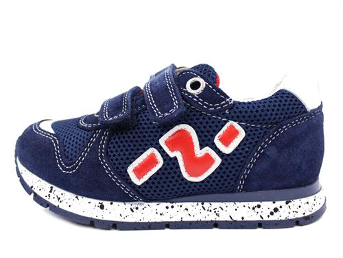 c197e3f0d Детская обувь. Кроссовки на двух липучках для мальчика темно-синий кожа,  текстиль BOMBA