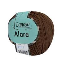 Пряжа Lanoso Alara 992 для ручного вязания