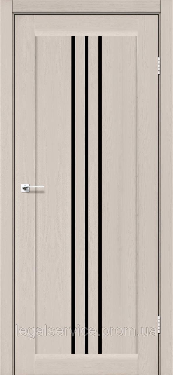 """Дверное полотно ТМ """"Leodor"""" модель """"Veronal"""" цвет дуб латте"""
