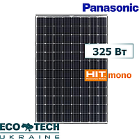 Panasonic солнечная панель (батарея, фотомодуль) монокристалл 325 Вт