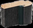 """Дверное полотно ТМ """"Leodor"""" модель """"Veronal"""" цвет серое дерево, фото 3"""