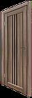 """Дверное полотно ТМ """"Leodor"""" модель """"Veronal"""" цвет серое дерево, фото 2"""