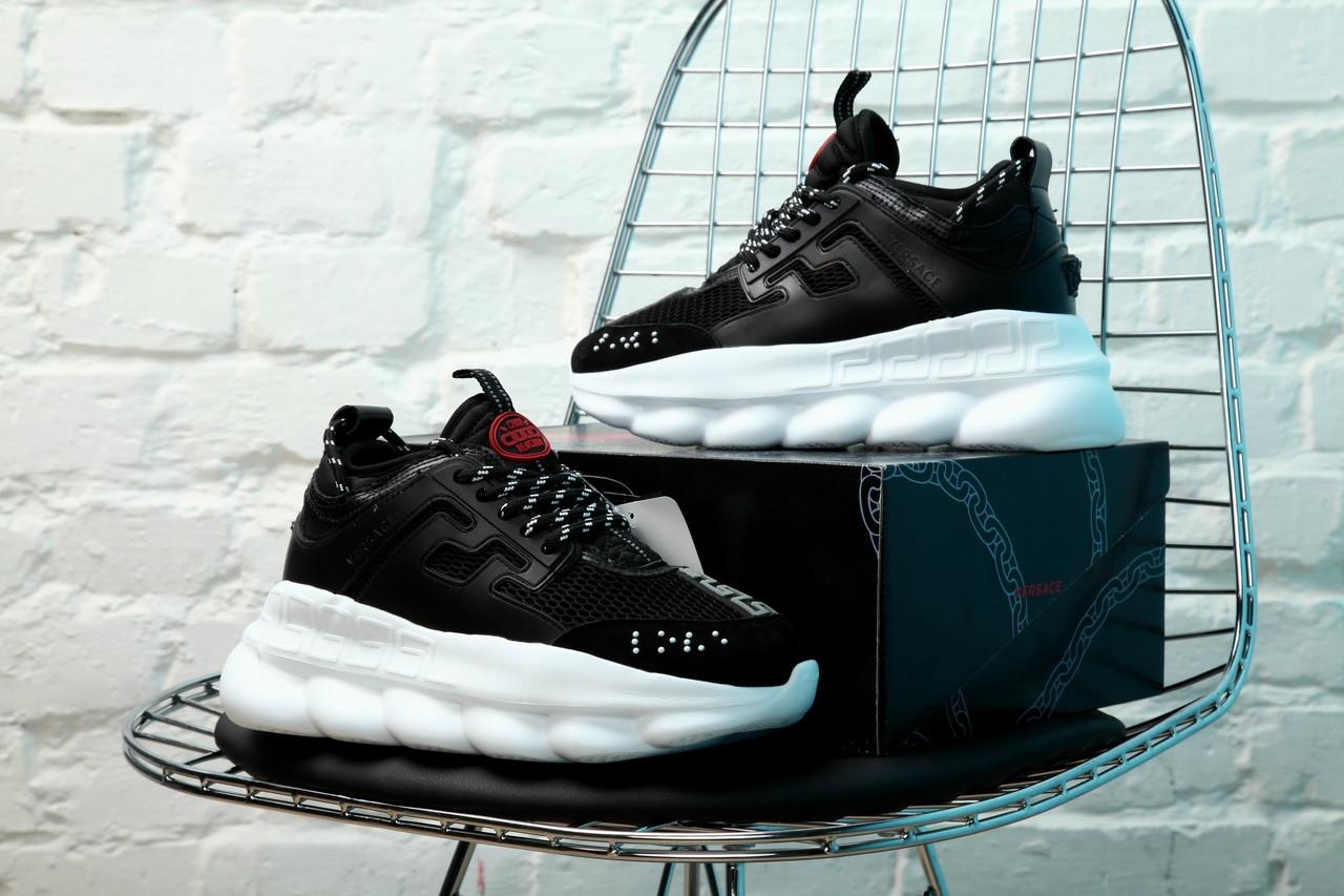 Чоловічі кросівки Versace Chain Reaction Sneakers, Репліка
