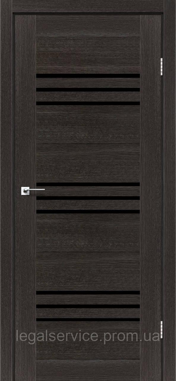 """Дверное полотно ТМ """"Leodor"""" модель """"Sovana"""" цвет дуб саксонский"""