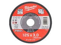 ОТРЕЗНОЙ ДИСК ПО МЕТАЛЛУ MILWAUKEE PRO+ 125 X 3 мм (код 4932451492).