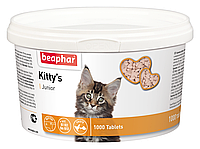 Beaphar Kittys junior витамины для котят  1000 таб (12596)