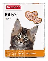 Beaphar Kittys junior 150 таблеток - витамины для котят  (12508)