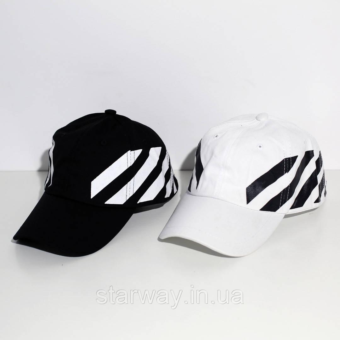 Кепка стильная Off White | логотип вышит