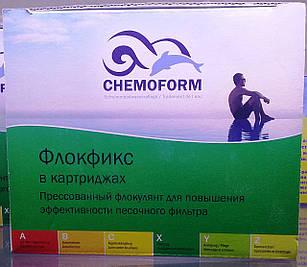 Флокулянт у картриджах, Chemoform - 1 кг (8шт)