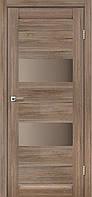 """Дверное полотно ТМ """"Leodor"""" модель """"Canneli"""" цвет серое дерево"""