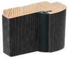 "Дверне полотно ТМ ""Leodor"" модель ""Arona"" колір сіре дерево, фото 3"