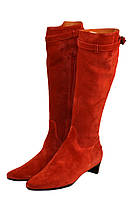 Сапоги женские MaxMara цвет красный размер 39 арт 45269643