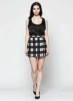 Юбка женская DIESEL цвет серо-бежевый размер 28 арт 00SJBK0PAIO, фото 1