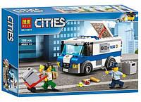 """Конструктор Bela 10654 """"Инкассаторская машина"""" 150 деталей. Аналог LEGO City 60142, фото 1"""