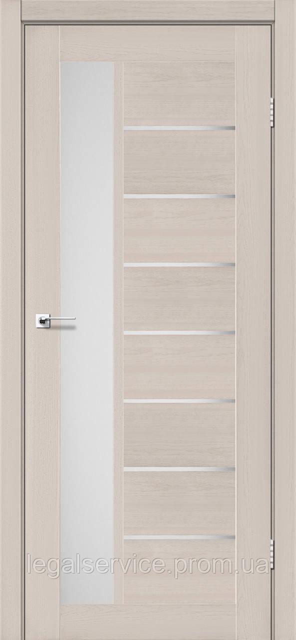 """Дверное полотно ТМ """"Leodor"""" модель """"Lorenza"""" цвет дуб латте"""
