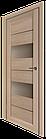 "Дверное полотно ТМ ""Leodor"" модель ""Canneli"" цвет дуб мокко, фото 2"