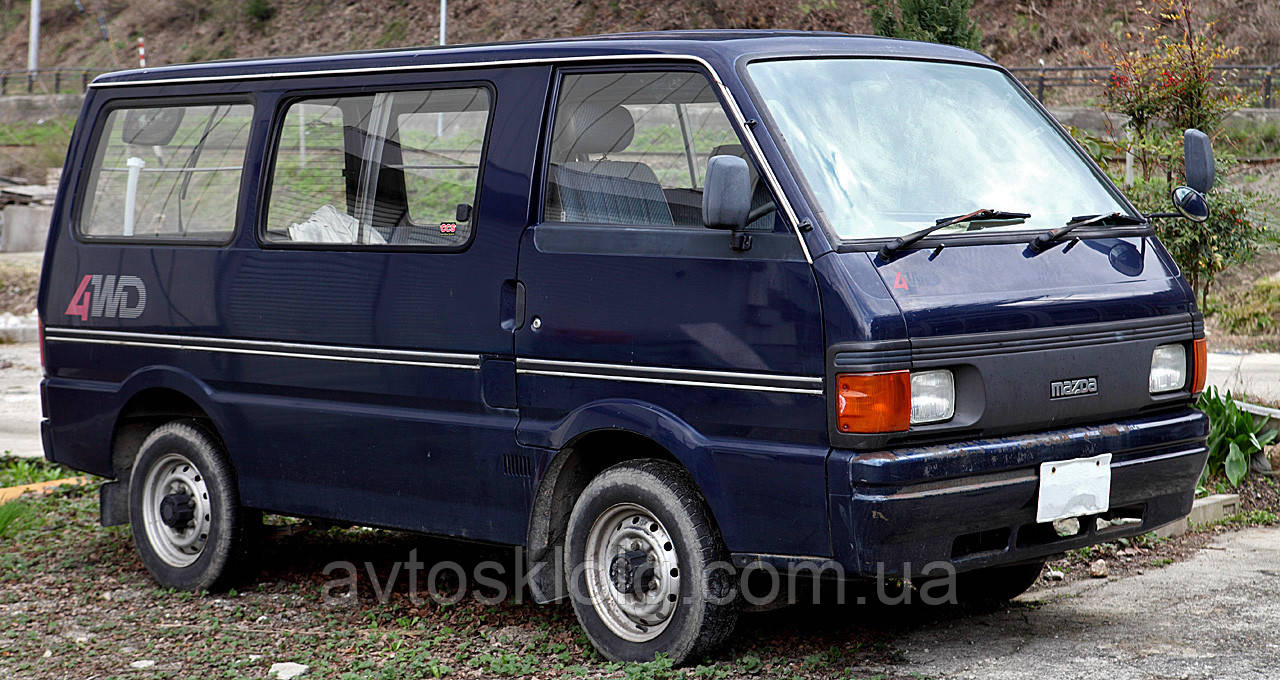 Стекло лобовое, боковое, заднее для Mazda E2000/E2200/Bongo (Минивен, Пикап) (1983-1999)