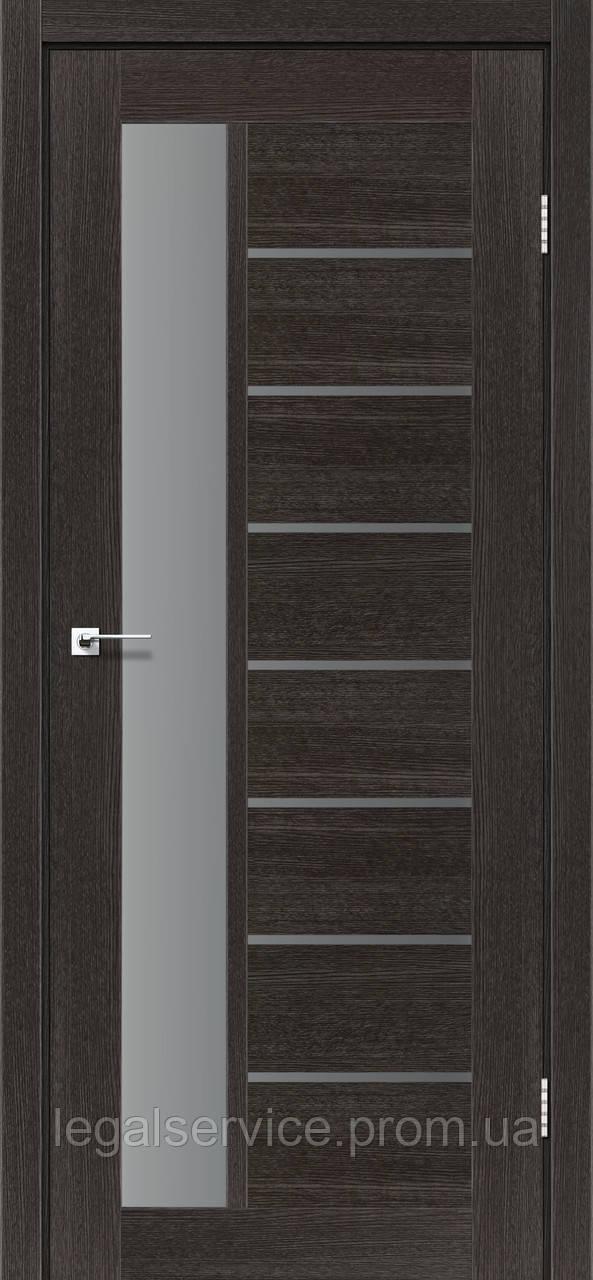 """Дверное полотно ТМ """"Leodor"""" модель """"Canneli"""" цвет дуб саксонский"""