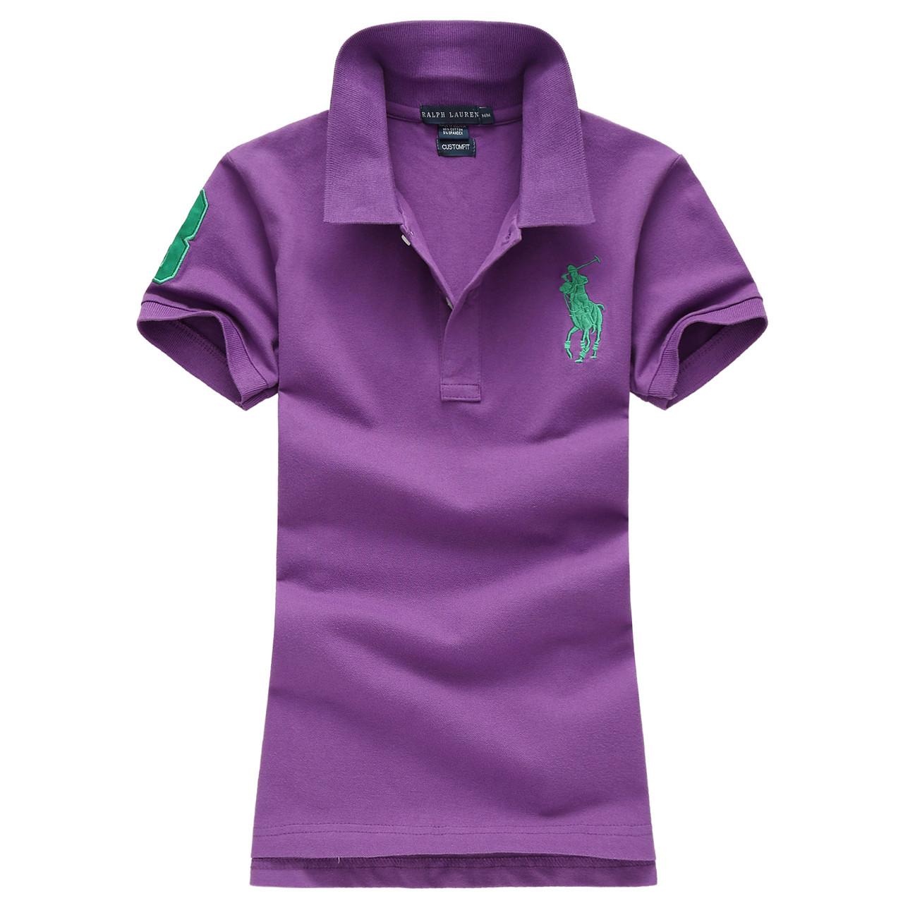 У стилі Ральф поло жіноча поло жіноча футболка бавовна ралф