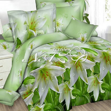Двуспальный Комплект постельного белья бязь ранфорс, фото 2