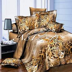 Двуспальный Комплект постельного белья бязь ранфорс, фото 3