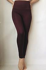 Женские лосины (норма) № 72 Бордо, фото 3