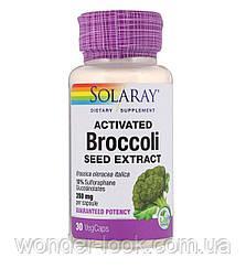 Solaray, Активоване екстракт насіння брокколі, 30 рослинних капсул
