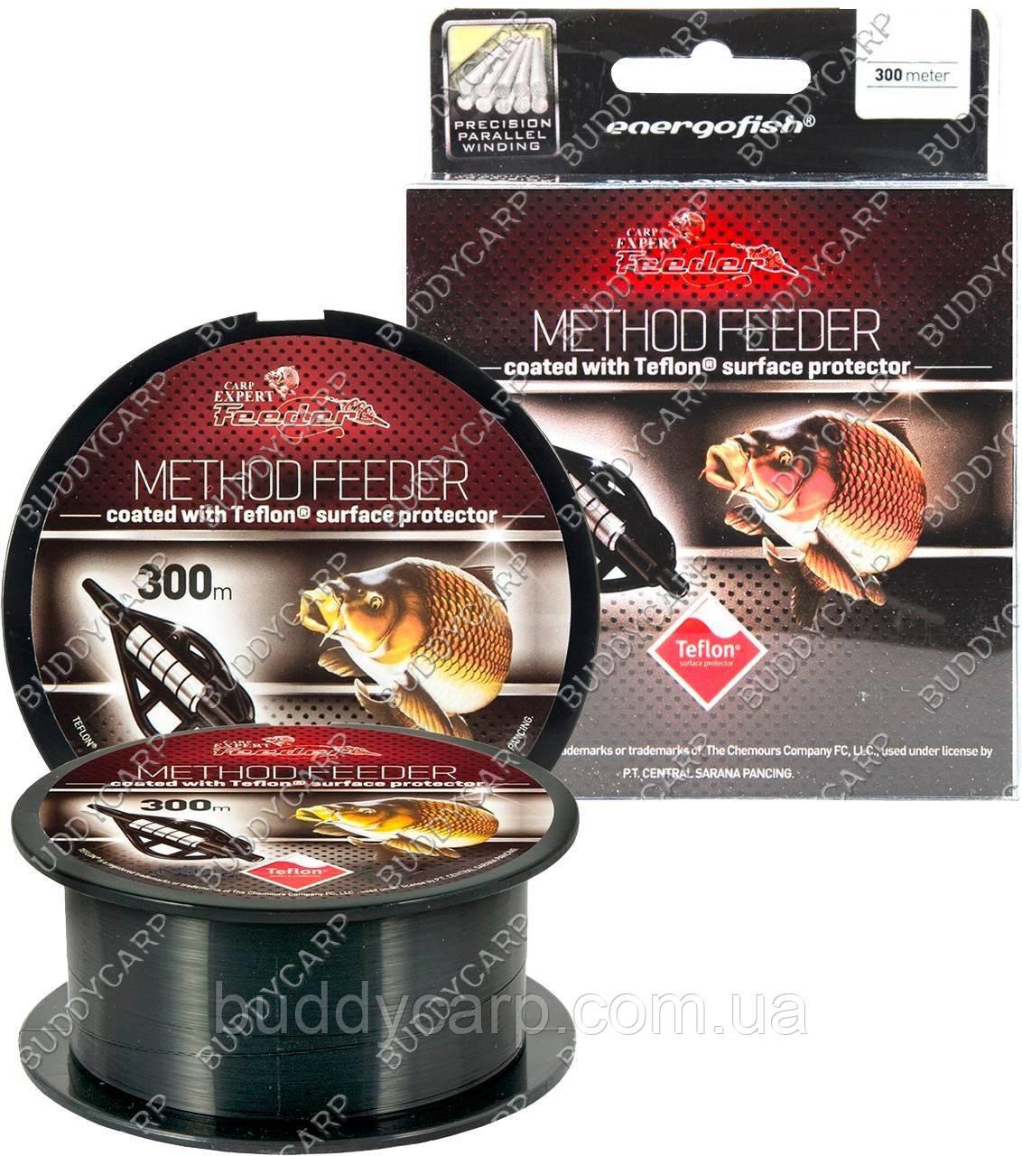 Леска 0.18 мм 300 метров 4.65 кг Carp Expert Method Feeder Teflon