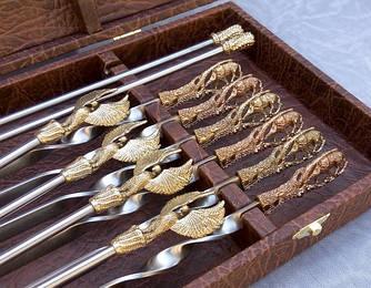 Наборы шампуров в кейсе