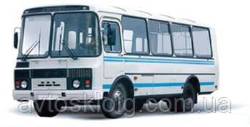 Стекло двери водителя подвижное для ПАЗ 3205
