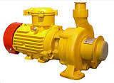 Насос КМ 80-65-140Е-м (КМЕ 80-65-140м) с бачком охлаждения, стальная проточная часть
